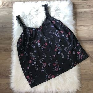 Jessica Simpson Camisole Lace Floral Size 1X
